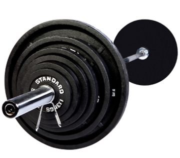 Troy Barbell Olympic 300lb. Weight Set